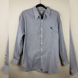⭐2/$10 Sale Rocawear Mens Striped Button Down